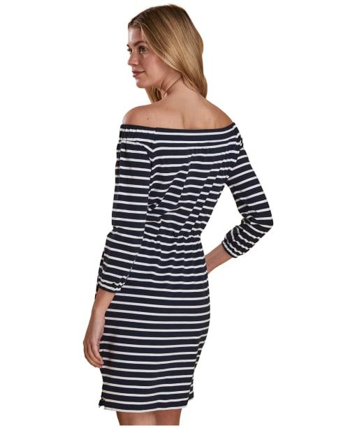 Women's Barbour Waveson Dress - Navy / White