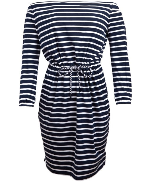 Women's Barbour Waveson Dress - Navy / White