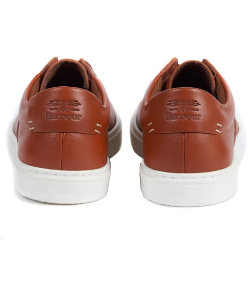 Women's Barbour Catlina Leather Trainers - Tan