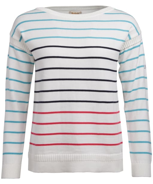 Women's Barbour Marine Knit Sweater - Off White