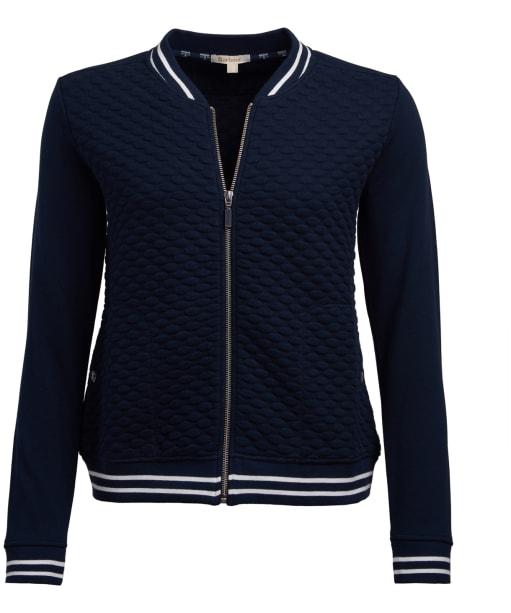 Women's Barbour Rowlock Overlayer Jacket - Navy