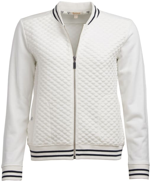 Women's Barbour Rowlock Overlayer Jacket - Off White