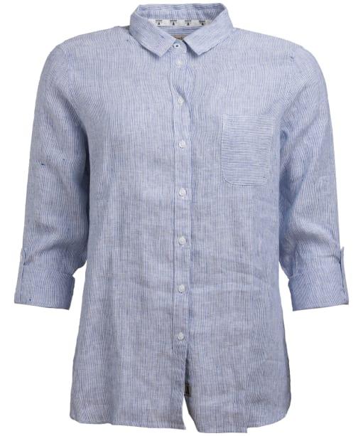 Women's Barbour Marine Shirt - Navy / White