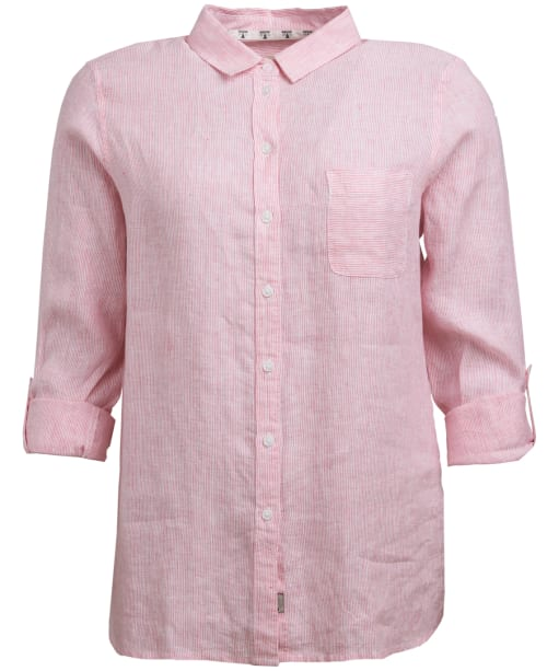 Women's Barbour Marine Shirt - Lobster / White