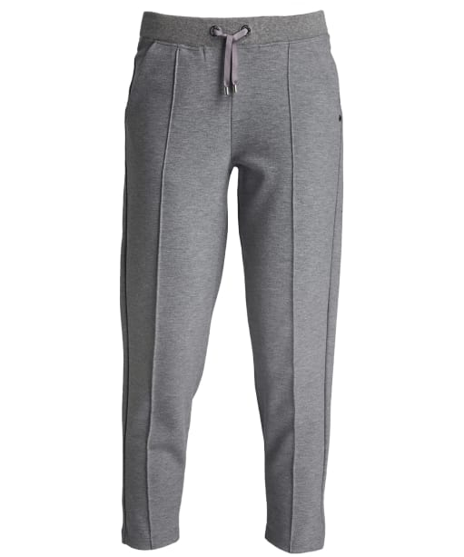 Women's Barbour International Bankso Trousers - Light Grey Marl