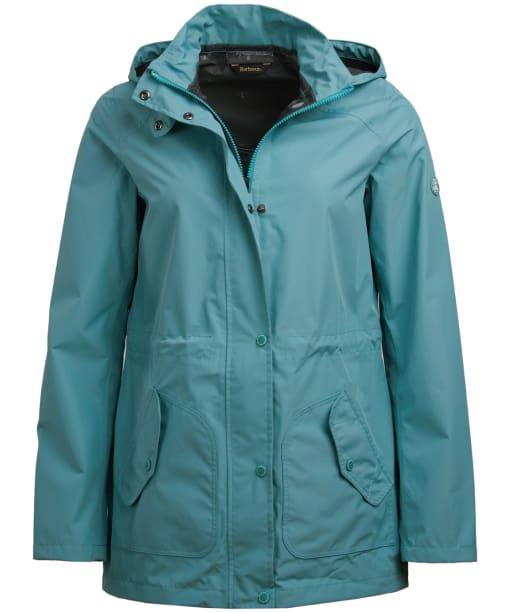 Women's Barbour Groundwater Waterproof Jacket - Seagreen