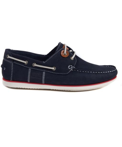 Men's Barbour Capstan Boat Shoes - Navy