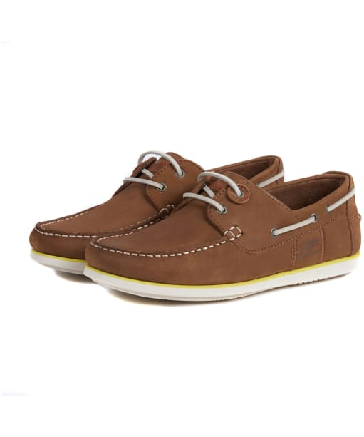 Men's Barbour Capstan Boat Shoes - Tan