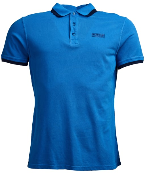 Men's Barbour International Pigment Polo Shirt - Brit Blue