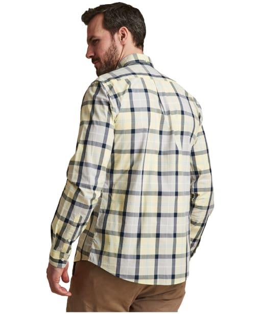 Men's Barbour Burnside Shirt - Lemon Zest