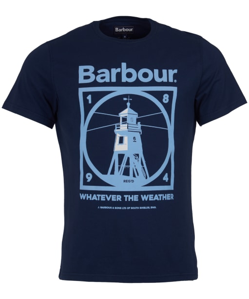 Men's Barbour Tarbert Tee - Dress Blue