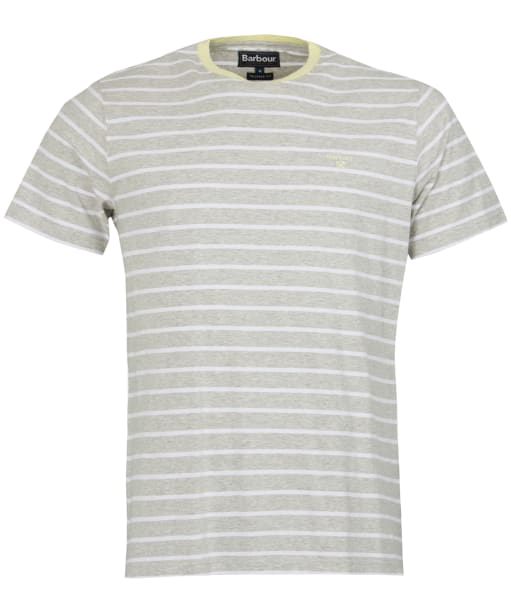 Men's Barbour Portree Tee - Light Grey Marl