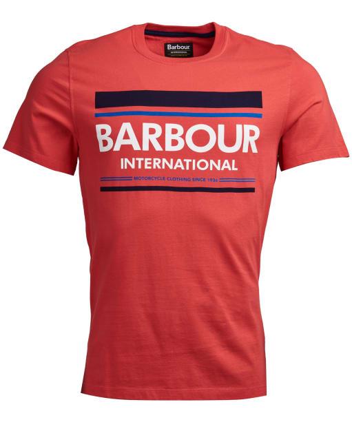 Men's Barbour International Control Tee - Racing Red