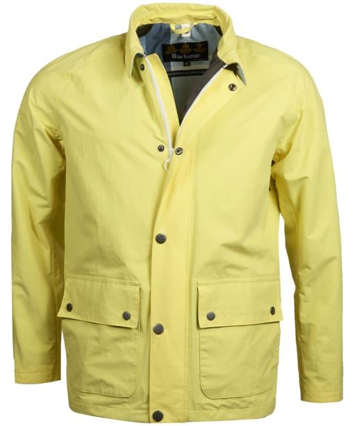 Men's Barbour Storrs Waterproof Jacket - Lemon Rind