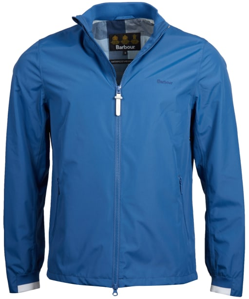 Men's Barbour Brimstone Waterproof Jacket - Loch Blue