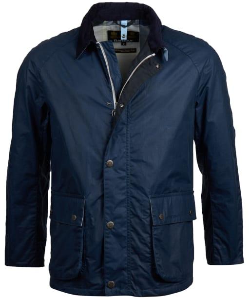 Men's Barbour Rothay Wax Jacket - Dark Denim