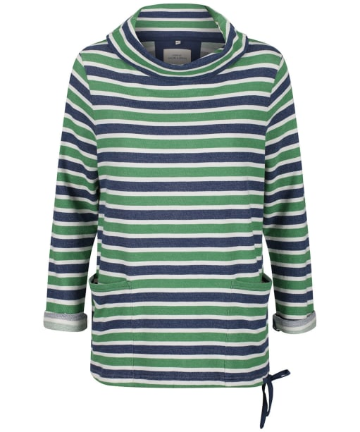Women's Seasalt Low Seas Sweatshirt - Breton Night Hedgerow