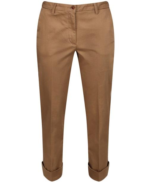 Women's GANT Modern Trousers - Warm Khaki