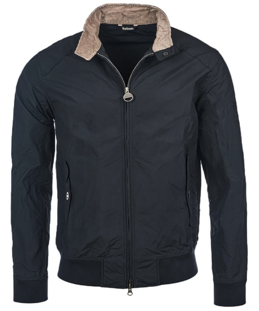 Men's Barbour Steve McQueen Rectifier Harrington Casual Jacket - Navy