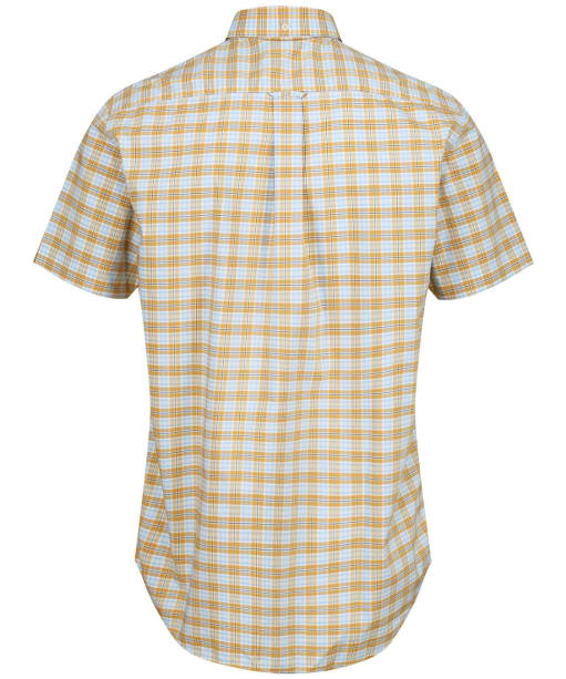 Men's GANT Tech Prep™ Broadcloth Plaid Shirt - Honey Gold