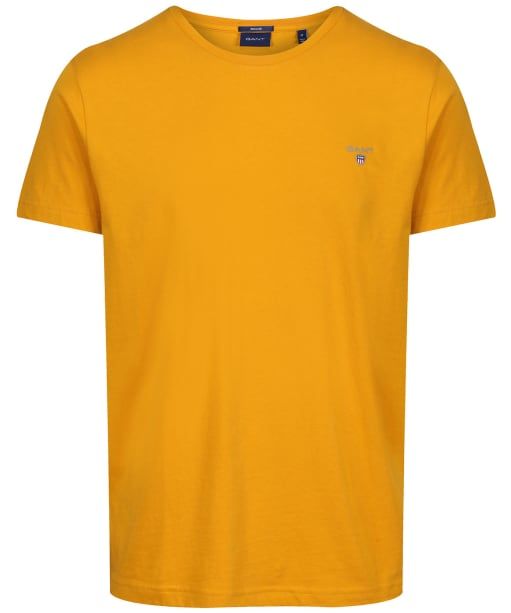 Men's GANT Solid T-Shirt - Ivy Gold