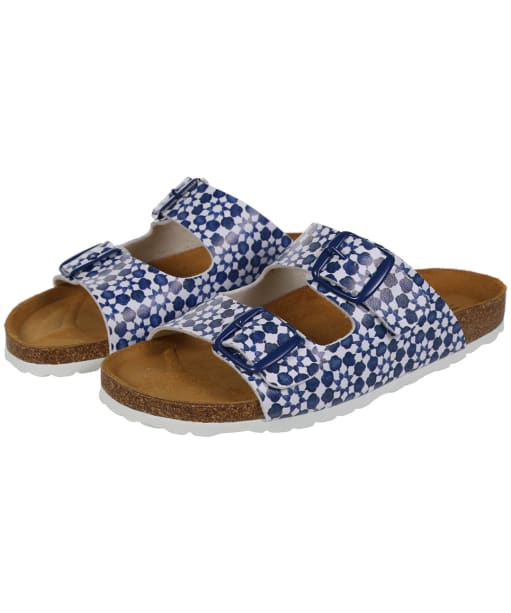 Women's Joules Penley Sandals - White Geo