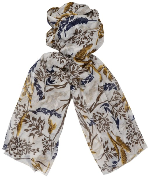 Women's GANT Harvest Print Scarf - Putty