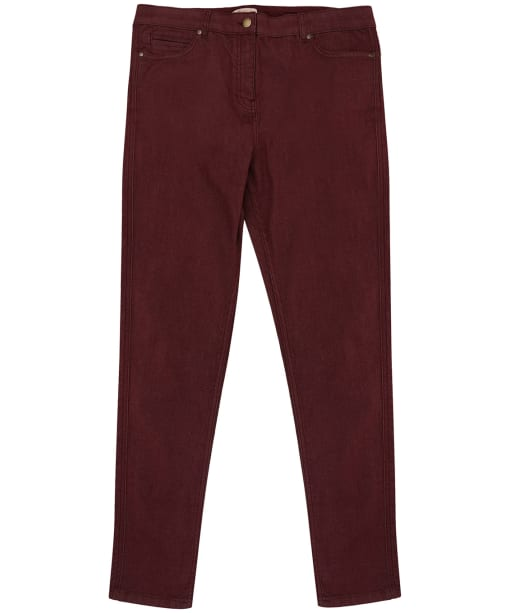 Women's Barbour Badminton Trousers - Bordeaux