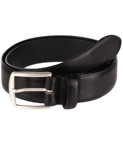 Men's GANT Leather Belt - Black