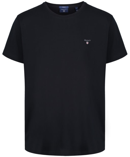Men's GANT Solid T-Shirt - Black