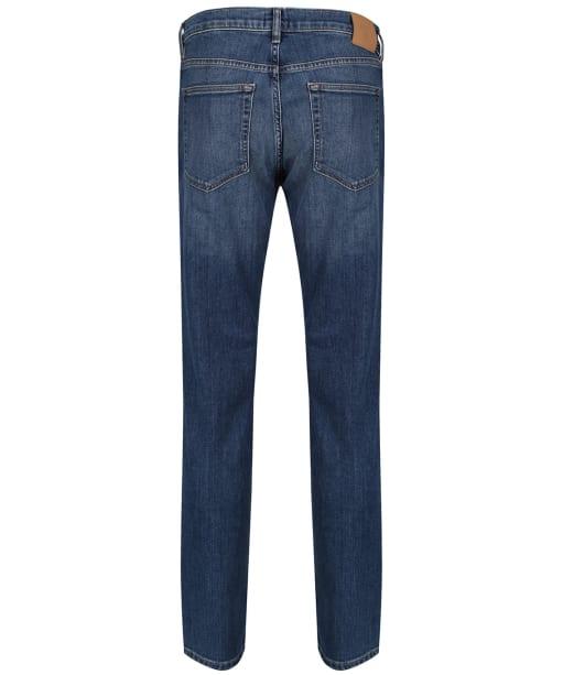 Men's GANT Slim Straight Jeans - Mid Blue