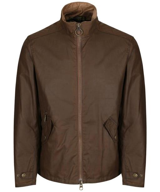 Men's Barbour Claxton Wax Jacket - Dark Sand