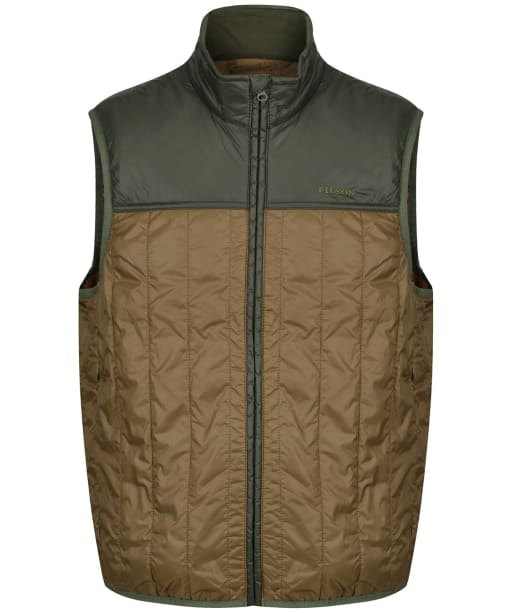 Men's Filson Ultra-Light Vest - Field Olive