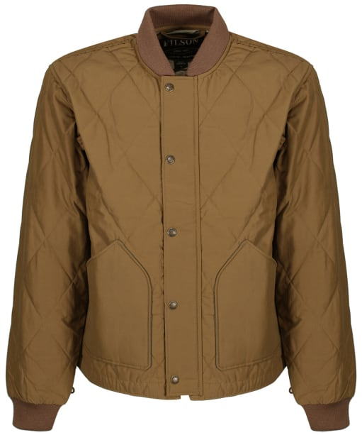 Men's Filson Quilted Pack Jacket - Tan