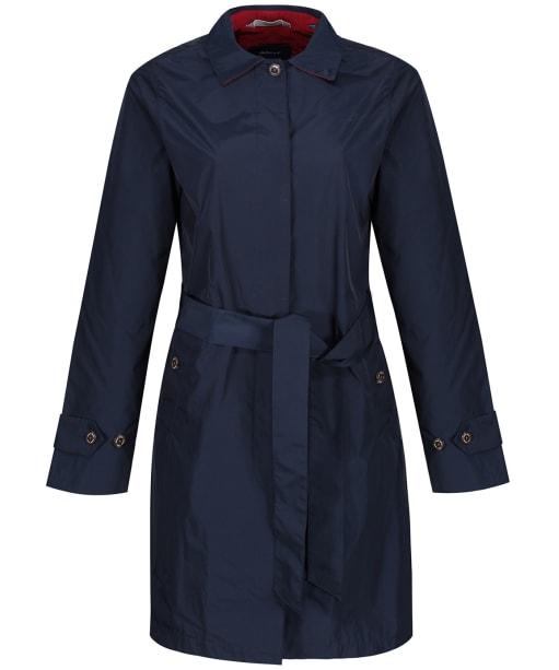 Women's GANT Memory Mac Coat - Marine