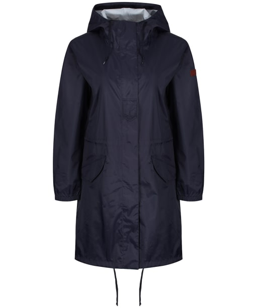 Women's Aigle Firstrain Packable Parka - Dark Navy