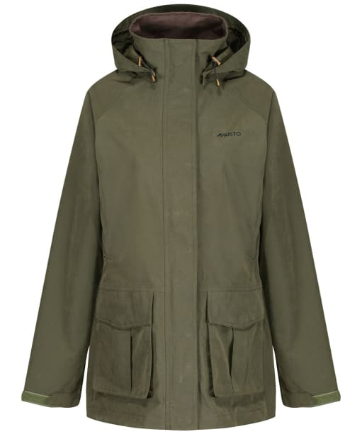 Women's Musto Burnham Waterproof Jacket - Dark Moss