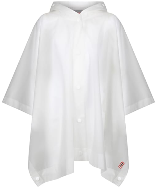 Hunter Original Kids Vinyl Poncho 3-5yrs - White