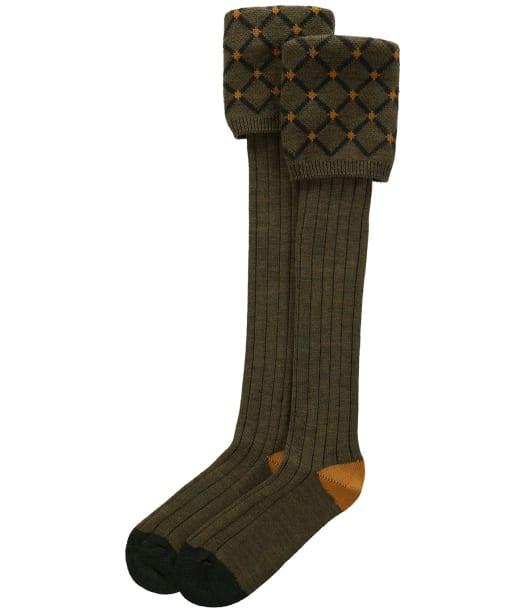 Pennine Regent Shooting Socks - Old Sage