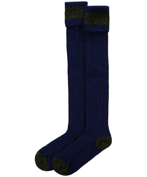 Pennine Byron Socks - Sapphire