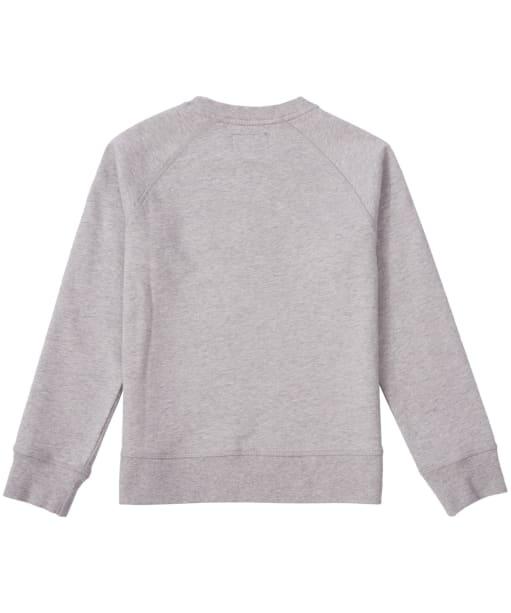 Boy's Barbour International Logo Sweatshirt, 10-15yrs - Grey Marl