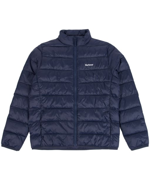 Boy's Barbour Penton Quilted Jacket, 10-15yrs - Navy