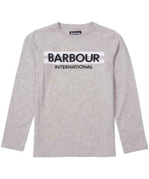 Boy's Barbour International Starter Tee, 2-9yrs - Grey Marl