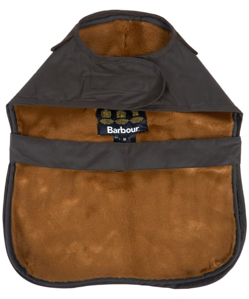 Barbour 2 in 1 Wax Dog Coat - Olive