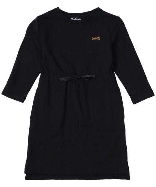 Girl's Barbour International Island Dress, 10-15yrs - Black