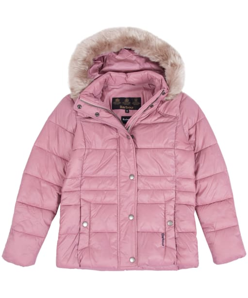 Girl's Barbour Ullswater Quilted Jacket, 10-15yrs - Rose Bay