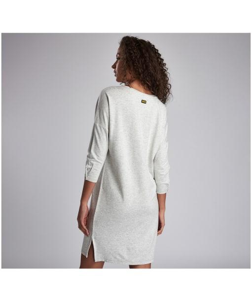 Women's Barbour International Circuit Dress - Pale Grey Marl