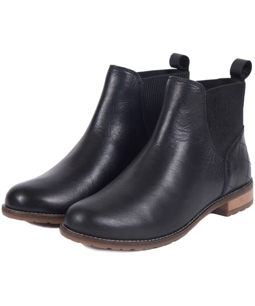 Women's Barbour Hope Chelsea Boots - Black