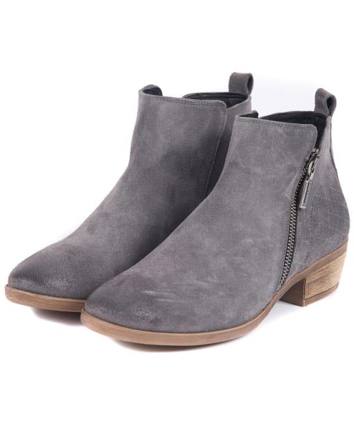 Women's Barbour Una Ankle Boots - Graphite