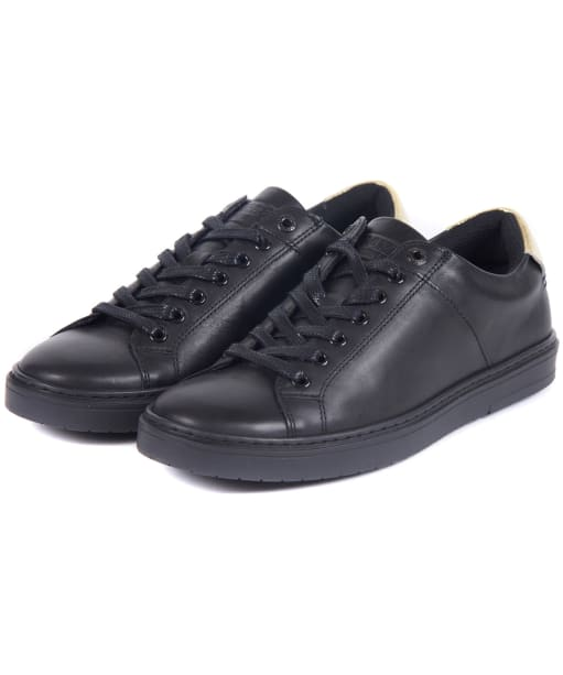 Women's Barbour International Herrera Trainers - Black / Gold